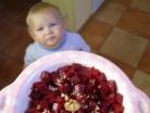 Дитячий салат «Бурячок»