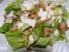 салат курка виноград листя салату ромен