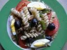 Макаронний салат з тунцем