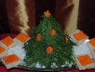 Салат новорічний закусочний «Ялинка»