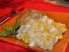 Салат з рисом і ананасами
