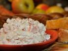 Моркв'яно-яблучний салат з домашнім майонезом