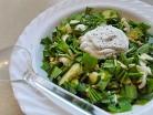 салат з черемшою та огірком